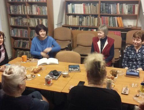 Spotkanie Dyskusyjnego Klubu Książki dla dorosłych.